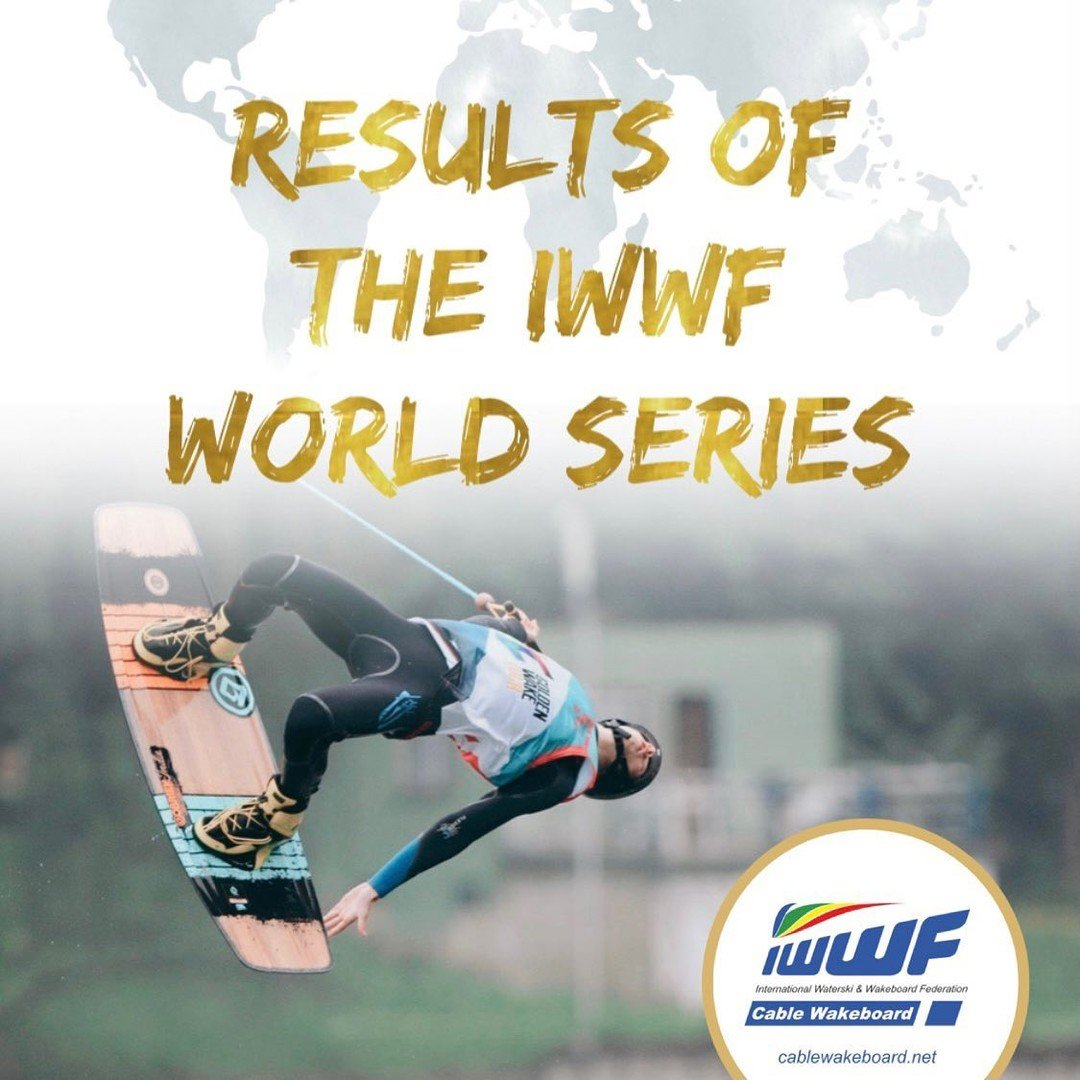IWWF Online Cable Wakeboard Series Event Results